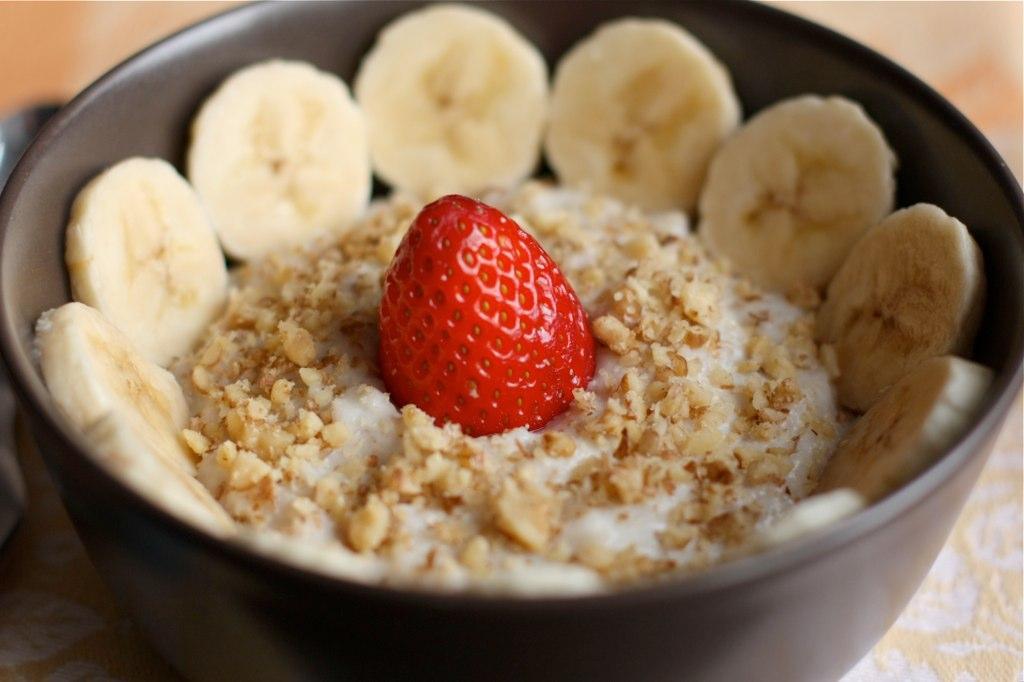 Вкусный и полезный завтрак.